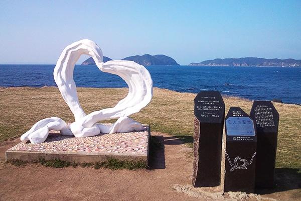 海のそばでクロカン練習・波戸岬海浜公園周回コース(唐津市)