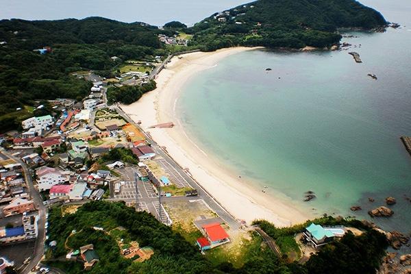 海と山の絶景を走る御座港・越賀(こしか)海岸コース(志摩市)