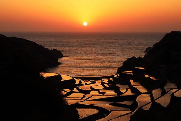 絶景!浜野浦の棚田を走る玄界灘コース(玄海町)
