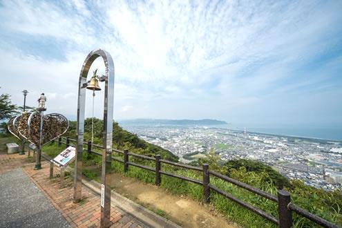 日向灘を一望!愛宕山公園上り坂コース(延岡市)