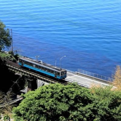 瀬戸内海に沿って「夕やけこやけライン」コース(伊予市)
