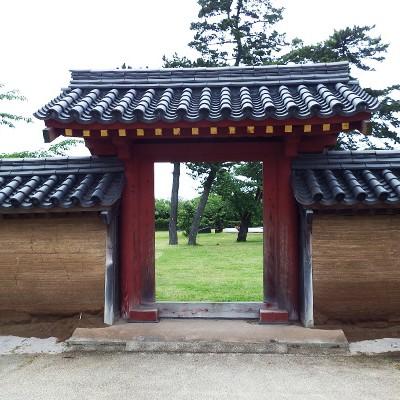 高清水公園にある秋田城跡、護國神社周回コース(秋田市)