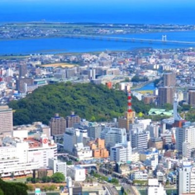 徳島市のシンボル!眉山山頂コース(徳島市)