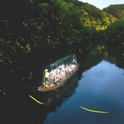 ほたるの棲む清流、木屋川さかのぼりコース(下関市)