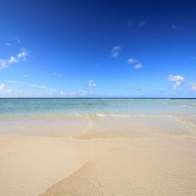 サンゴ礁の島、与論島一周ランコース(大島郡)