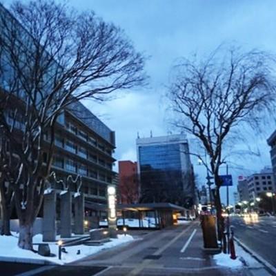 秋田の冬の風物詩!ロードヒーティングコース(秋田市)