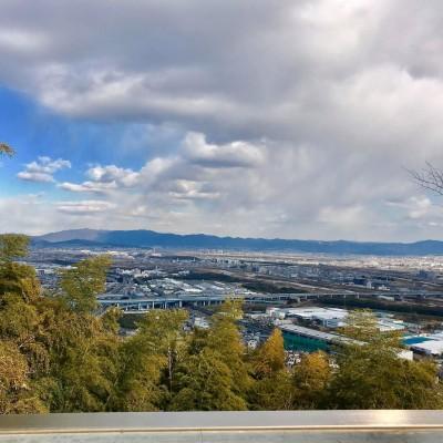 天王山から見渡す景色はさいこうですよ