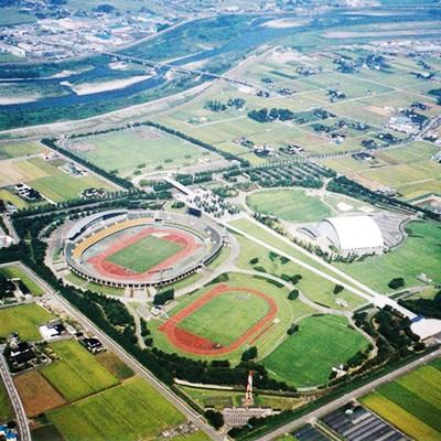 富山県総合運動公園クロスカントリーコース(富山市)