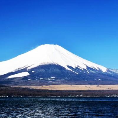 富士山を間近に見ながら走る!山中湖一周コース(山中湖村)