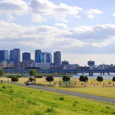 ランニング大会のメッカ!淀川河川敷コース(大阪市)