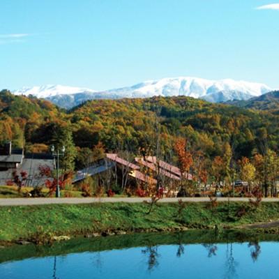 大根の産地、天空の里を駆ける。山之村牧場コース(飛騨市)