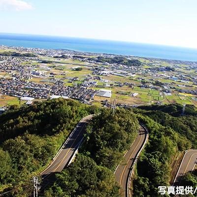 太平洋を一望!三宝山スカイライン絶景コース(香南市)