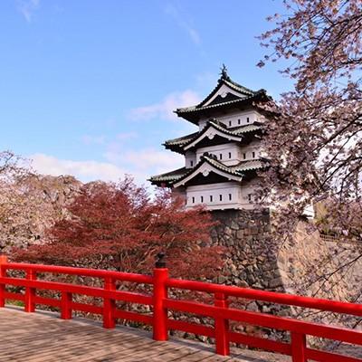 城を眺めて自在に走る!弘前城・弘前公園コース(弘前市)
