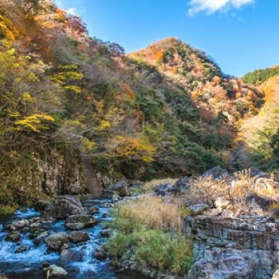 清流と四季折々の自然を満喫!神之瀬峡コース(三次市)