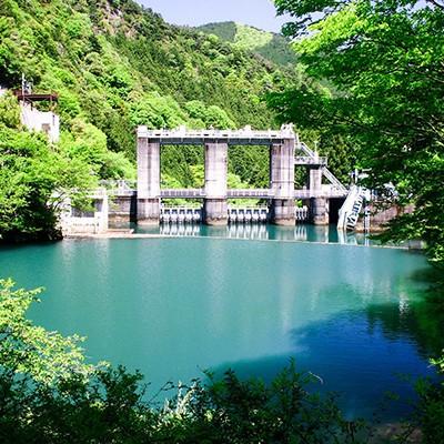 緑いっぱいの猫山ダム周回コース(佐世保市)