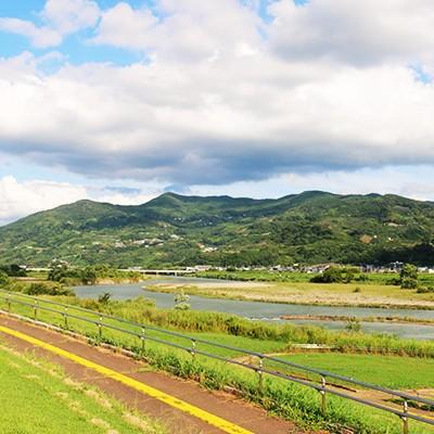 紀の川河川敷サイクリングロードコース(和歌山市)