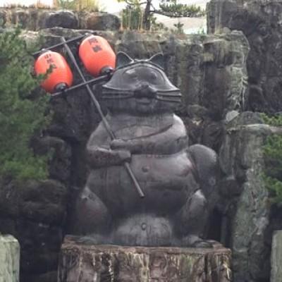 世界最大の狸の銅像も!阿波の狸合戦コース(小松島市)