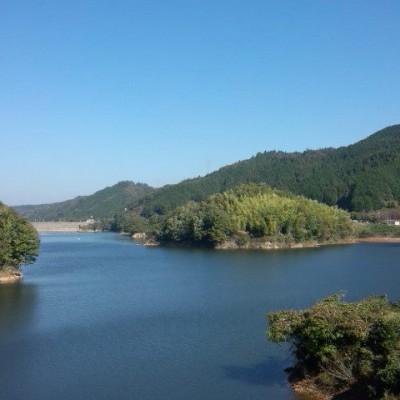布目湖を一周、ダム絶景周回コース(山添村)