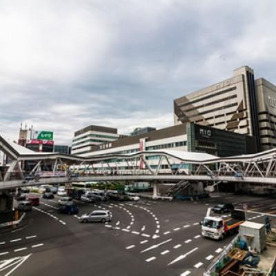 大阪中心部のジャーニーラン。環状線一周コース(大阪市)