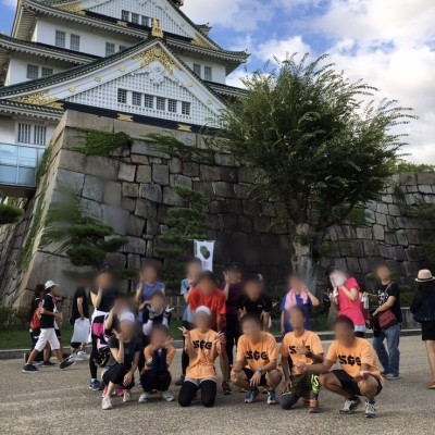 大阪城 10kmランニング