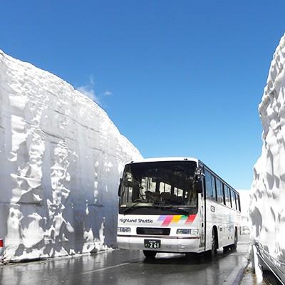 雪の回廊を走る!乗鞍エコーラインコース(松本市)