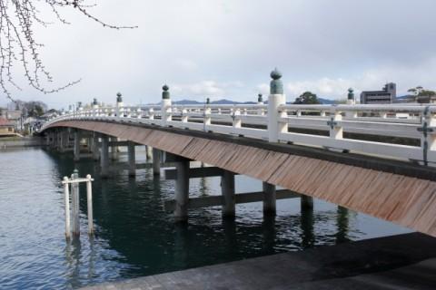 瀬田の唐橋を渡る、瀬田川沿い周回コース(大津市)