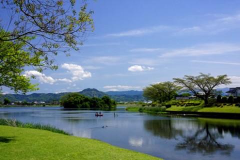 水辺を走る!水前寺 江津湖公園の遊歩道コース(熊本市)
