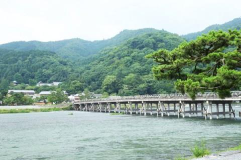 渡月橋を渡る!桂川河川敷周回コース(京都市)
