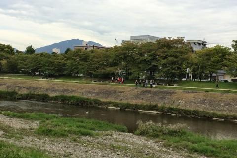大津駅から京都鴨川四条へ ロード&プチトレイルコース