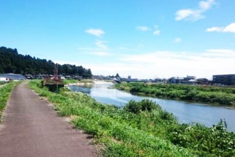 信号を気にせず爽快ラン。七北田川沿いコース(仙台市)