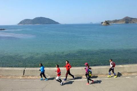 海と伊予小富士!興居島(ごごしま)一周コース(松山市)