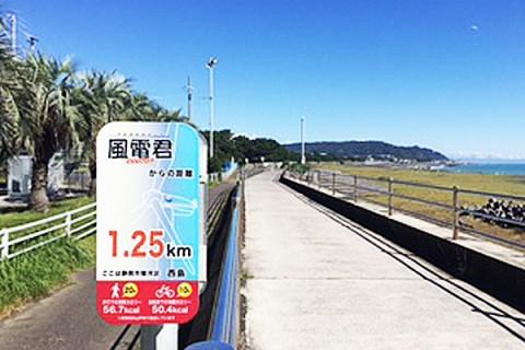 安倍川~太平洋岸を走る!久能山東照宮参拝コース(静岡市)