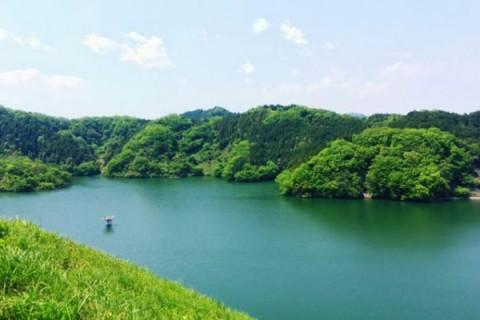 走りごたえあり。城山湖散策路コース(相模原市)