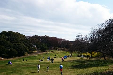 日本初の競馬場・根岸森林公園コース(横浜市)
