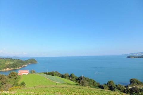 日本のエーゲ海「牛窓」の前島一周コース(瀬戸内市)