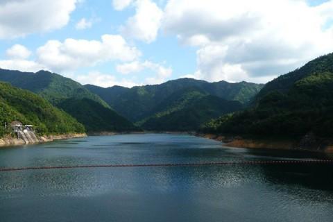 多々良木ダム湖周回コース(朝来市)