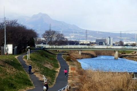 桃ノ木川サイクリングロードコース(前橋市)