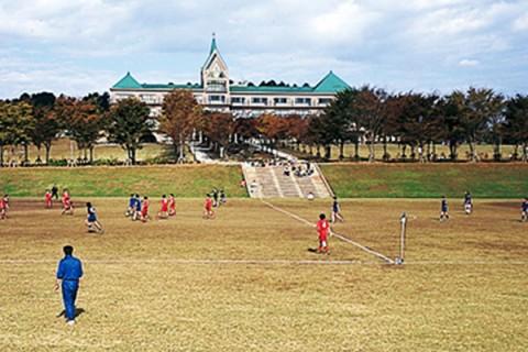 丘陵地のレジャー施設が舞台。ふれあいの丘コース(大田原市)