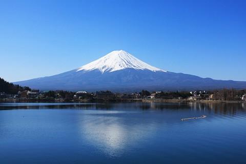 富士山を見ながら!河口湖・西湖一周コース(富士河口湖町)