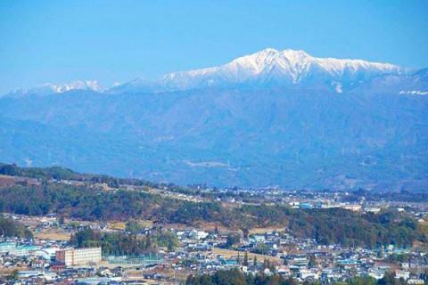 南アルプス連峰パノラマビューコース(飯田市)