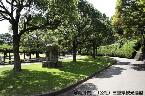 二つのコースで練習できる中部台運動公園トリムコース(松阪市)