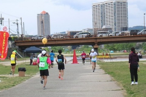 武庫川ユリカモメウルトラ70Kmマラソンコース