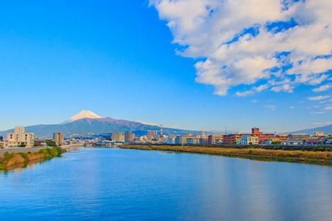 川の流れと富士山を眺めながら!狩野川コース(沼津市)