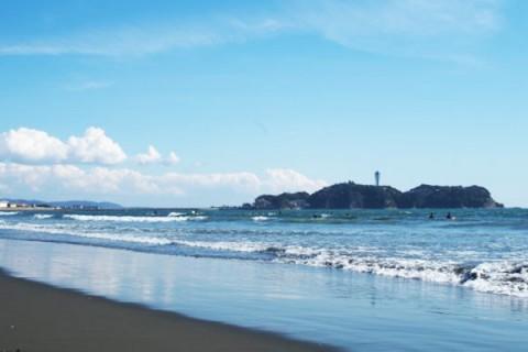 相模湾を一望、湘南サイクリングロードコース(藤沢市)
