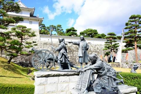 名所ランの醍醐味、二本松観光地めぐりコース(二本松市)