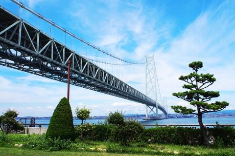明石海峡大橋と淡路島を見ながら!大蔵海岸コース(明石市)