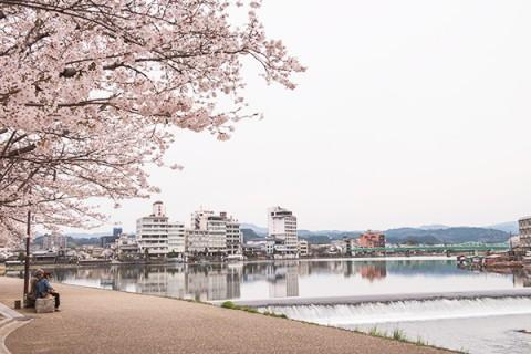三隈(みくま)川・天然水と日田温泉コース(日田市)