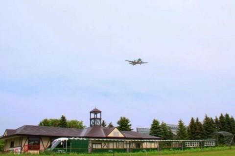 丘珠(おかだま)空港緑地、人気急上昇コース(札幌市)