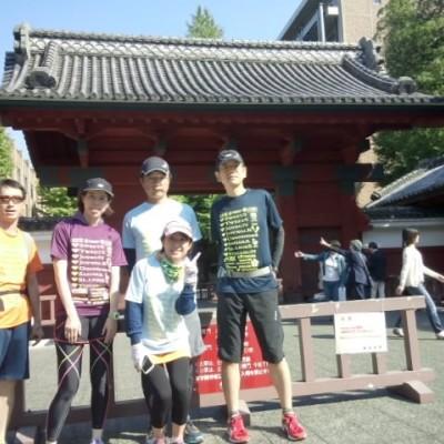 [JoyRun☆963rd]加賀百万石の上屋敷と本郷文学スイーツjoyrun