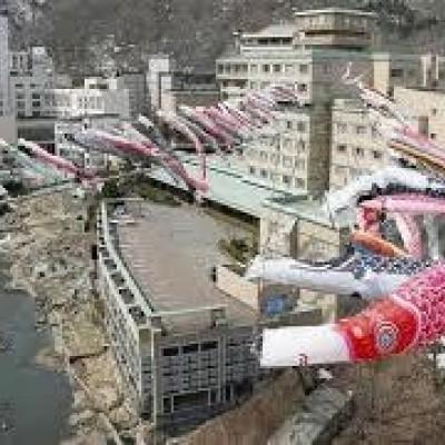 さとRUN~定山渓の鯉のぼりに会いに行こう!
